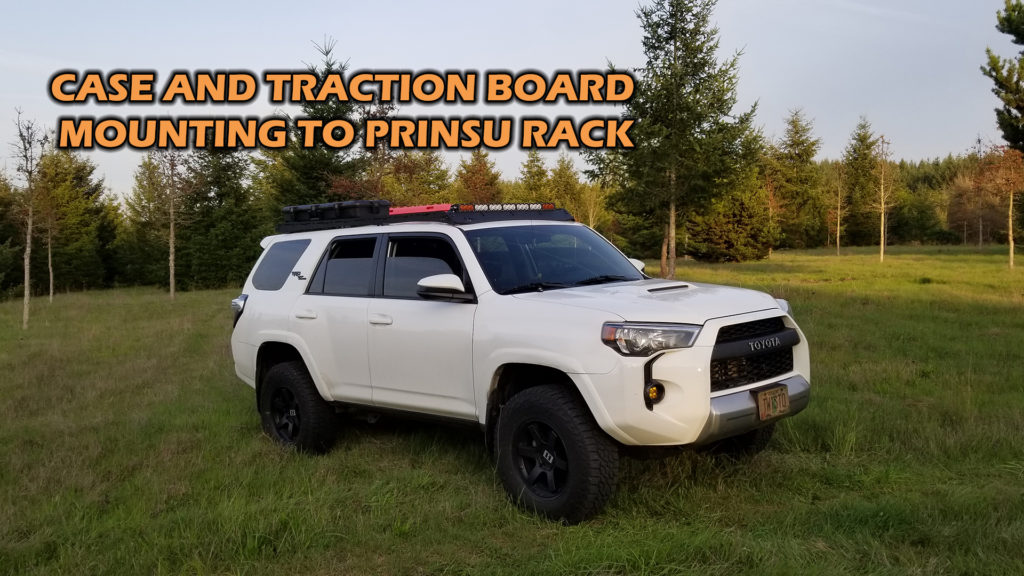 Plano case and XBull traction board install on Prinsu rack – 2018