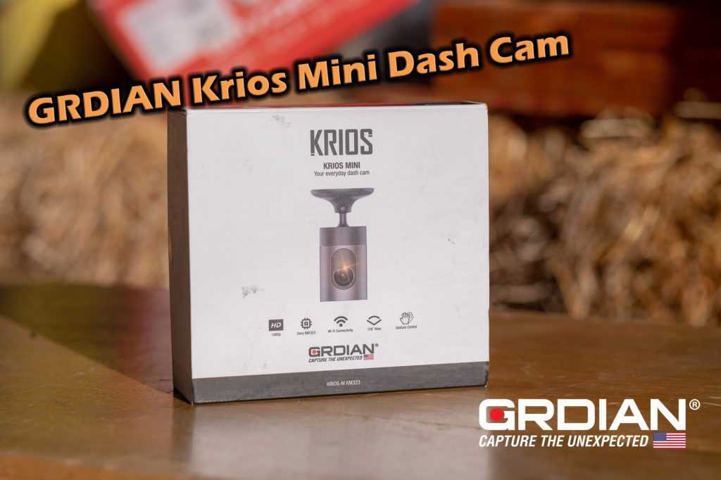 GRDIAN Krios Mini Dash Cam Samples and Review – 2018 Toyota