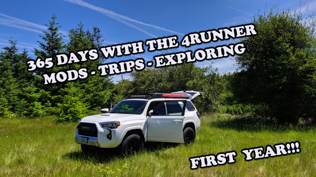 365 Days of 4Runner Ownership and Mods – The First Year